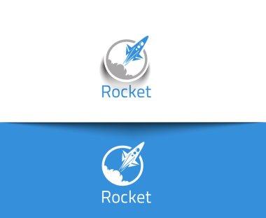 Abstract Rocket Logo