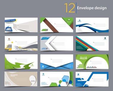 Paper envelope templates