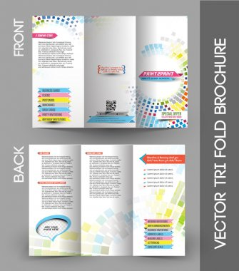Press Color Management Tri-fold Brochure