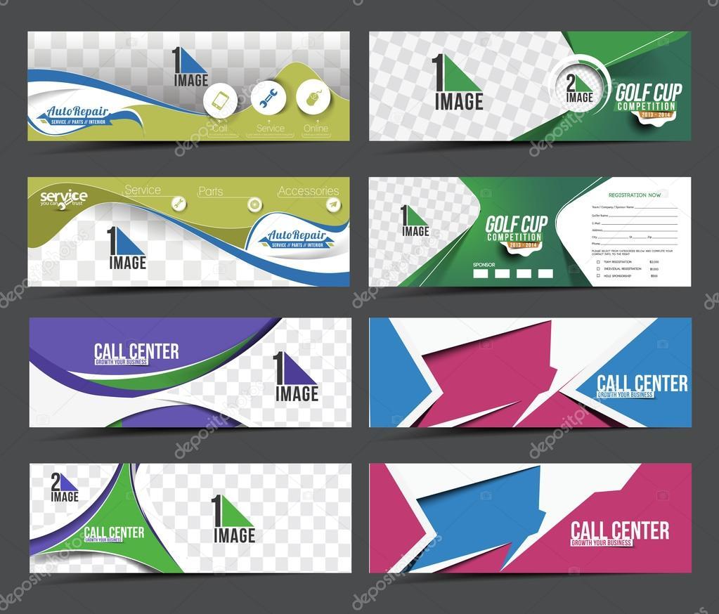 Modern Abstract Business Banner