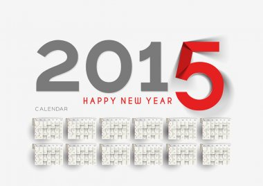 New Year Calendar 2015