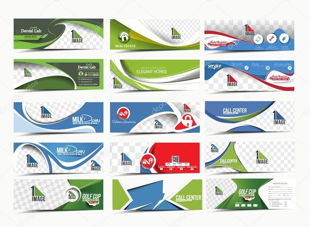 Modern Abstract Business Banner Template