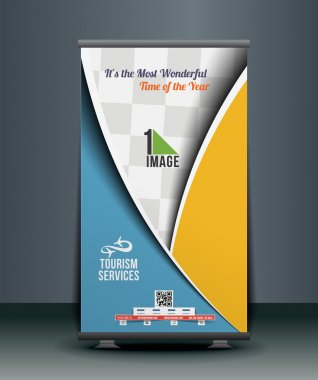Travel Srvice Roll Up Banner