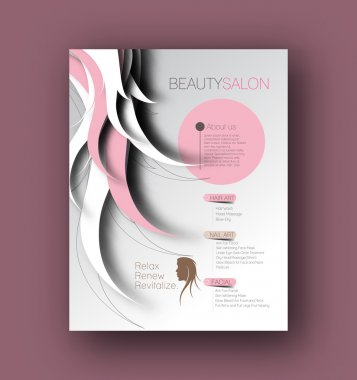 Beauty Care & Salon Flyer