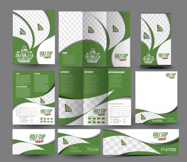 Golf club Business Stationery