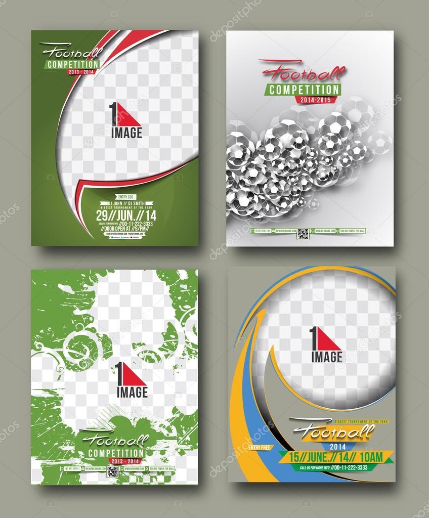 Sport Flyer Design — Stock Vector © redshinestudio #72371577
