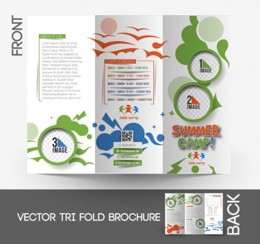 Summer Camp Tri-Fold Brochure