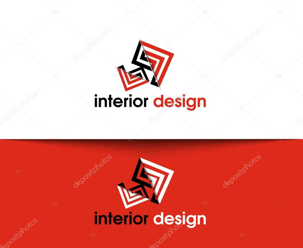 Interior Design Web Icons And Vector Logo By Redshinestudio