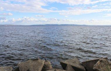 Volga expanses in summer