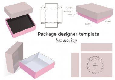 Package Mockup Box