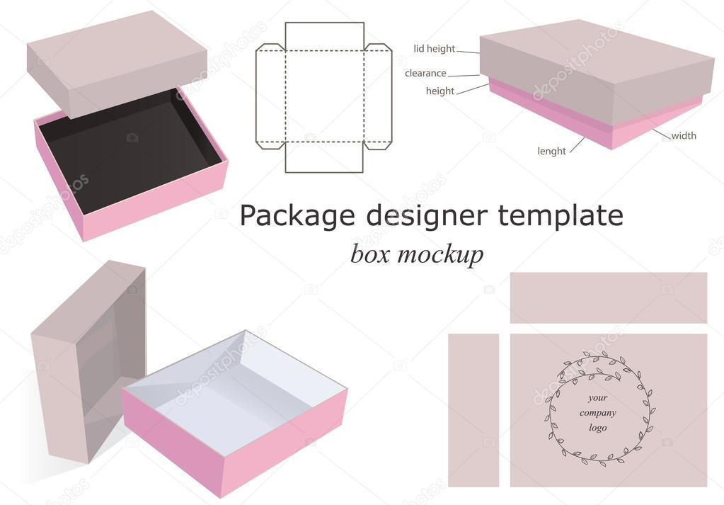 Package Mockup Box