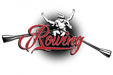 Summer kinds of sports. Rowing