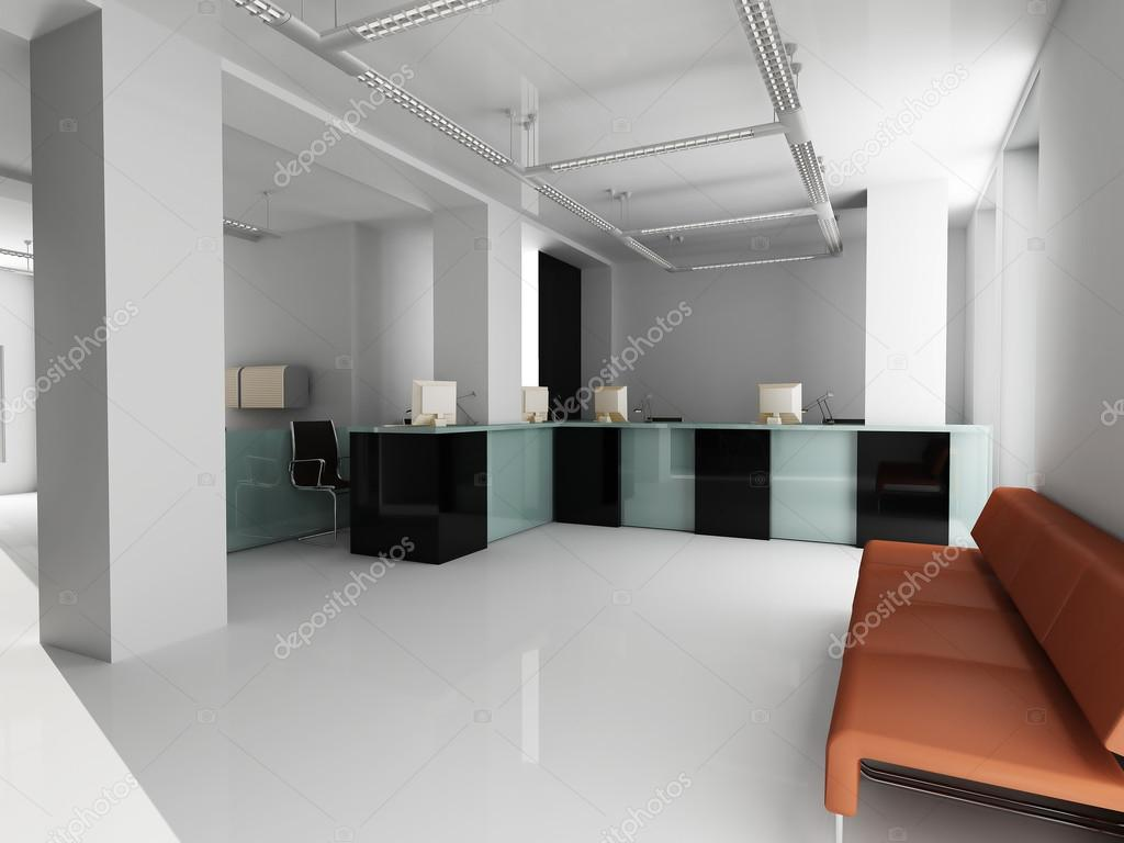 moderne Büro-Interieur — Stockfoto © kash76 #121548574