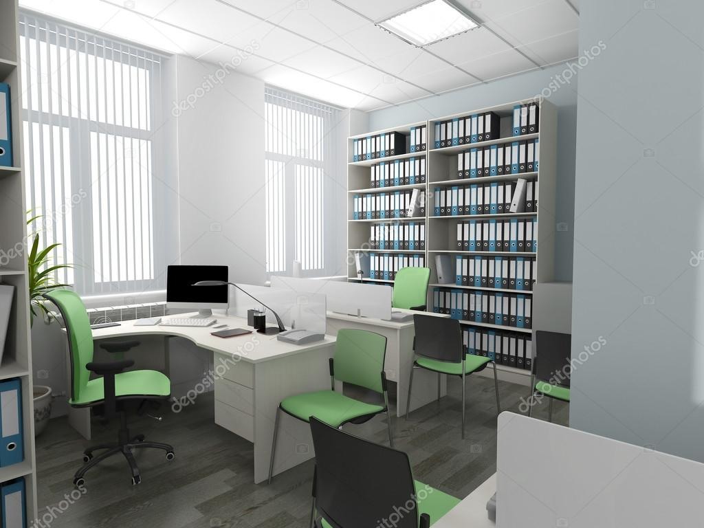 Büro einrichtungsideen modern  moderne Büro-Interieur — Stockfoto © kash76 #98408152