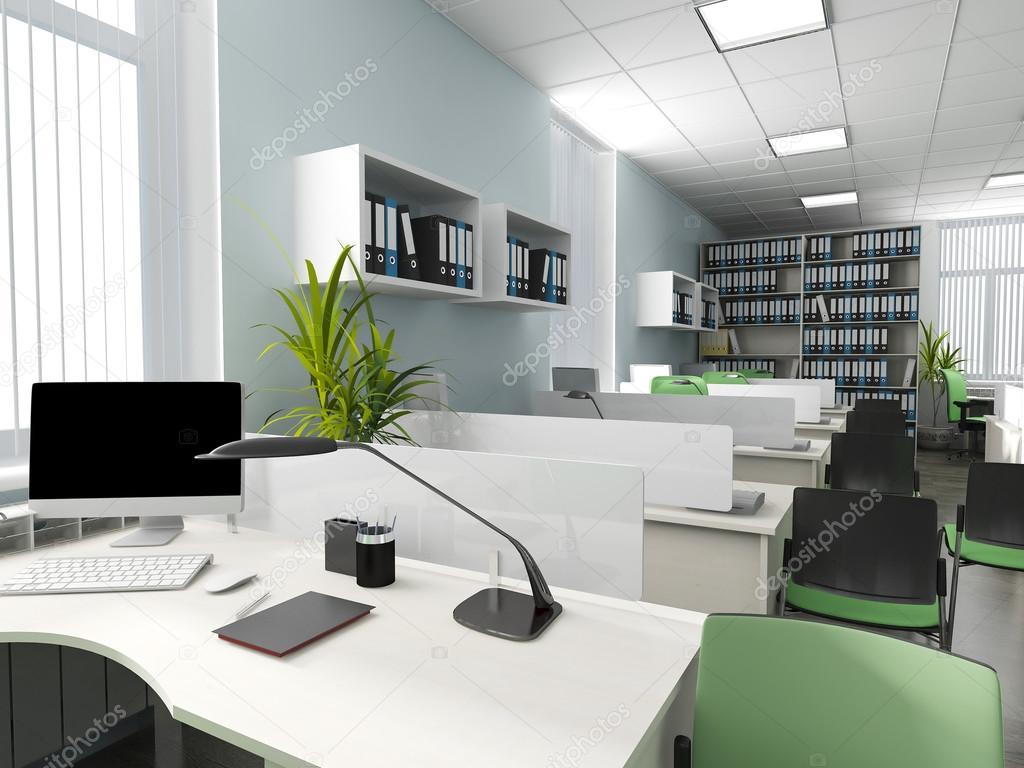Büro einrichtungsideen modern  moderne Büro-Interieur — Stockfoto © kash76 #98637062