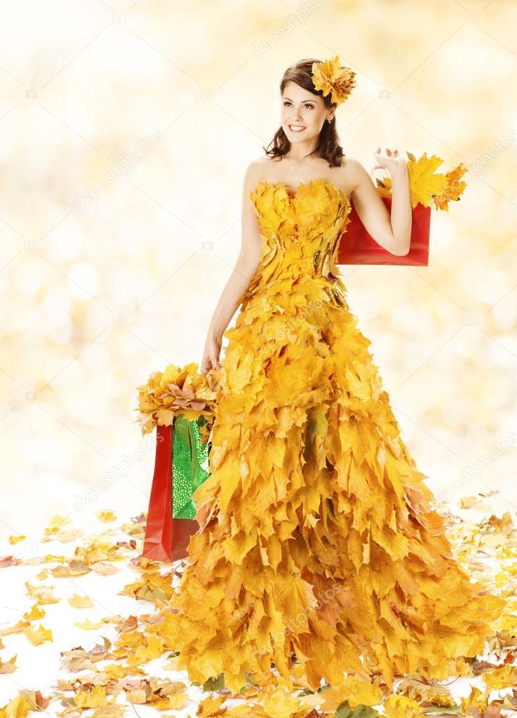 фото с листом клена как платье члены семьи должны