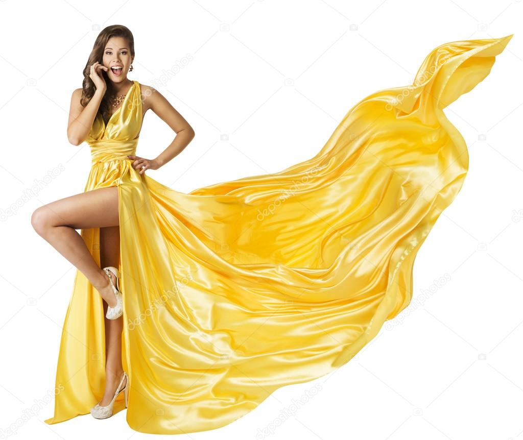 2086bb34993328 Vrouw schoonheid lange Fashion jurk