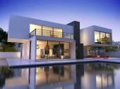 A kocka egy medence ház