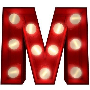 Glowing M