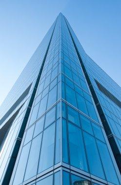 Modern high rise buildings