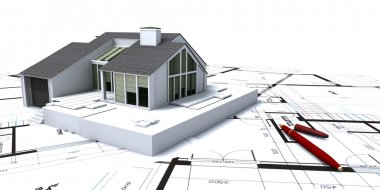 House planning close-up