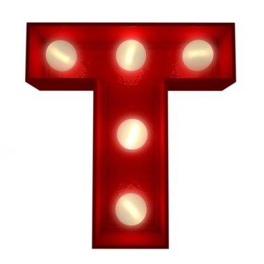 Glowing T