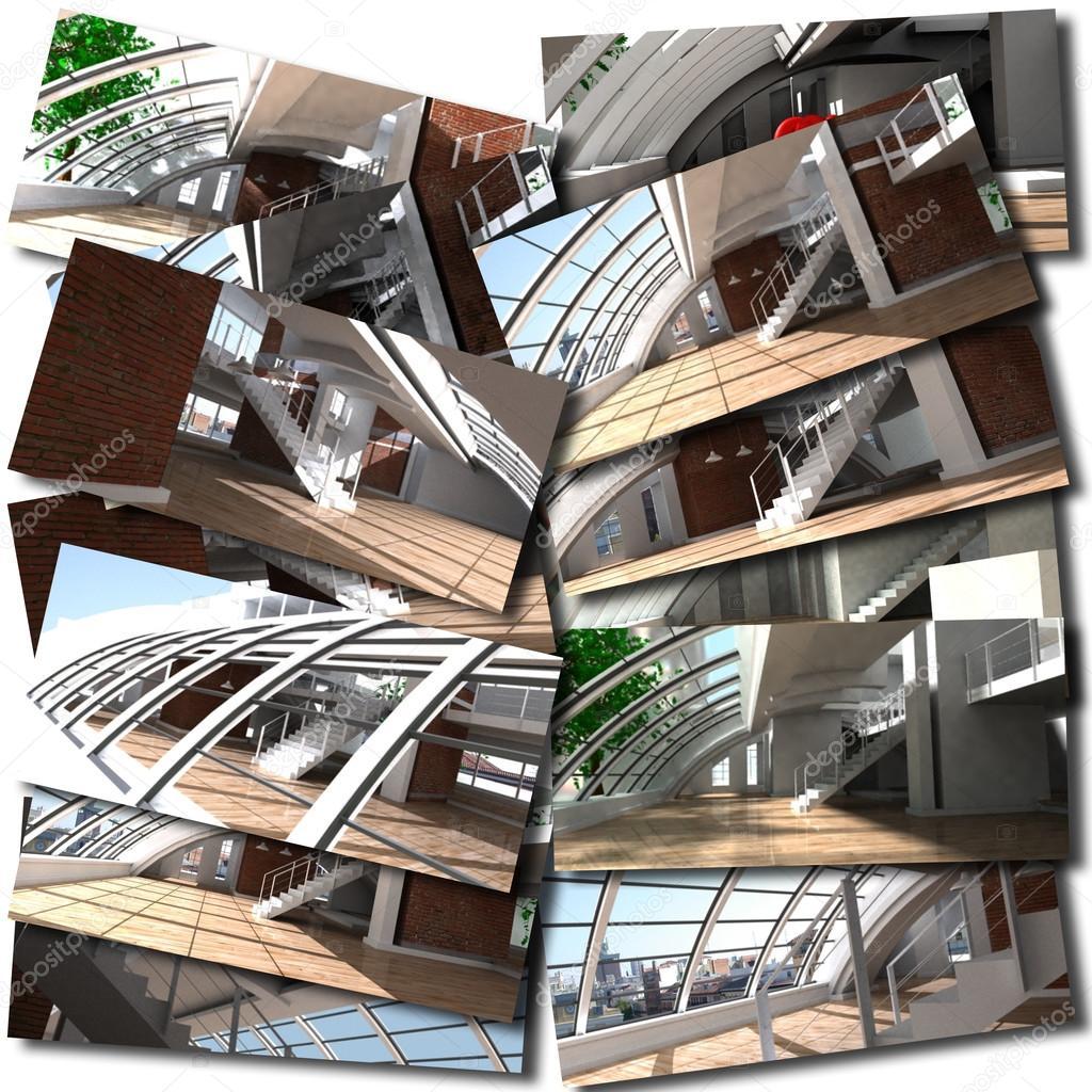 Loft collage