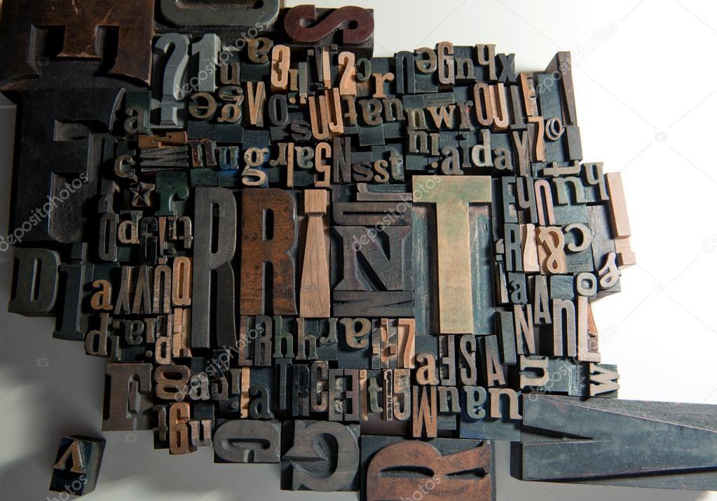Print in wood