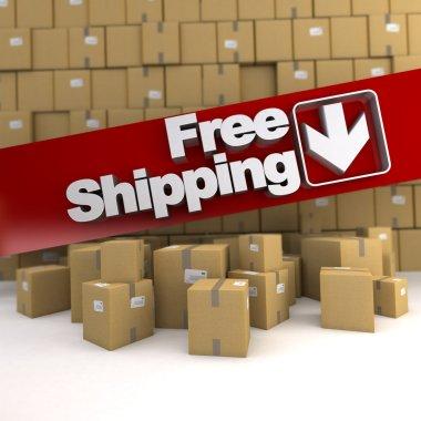 Free shipping, box wall