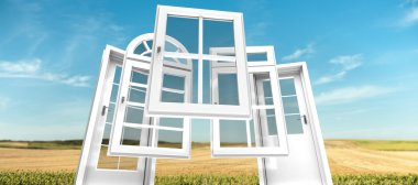Doors and windows catalogue, landscape