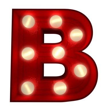 Glowing B