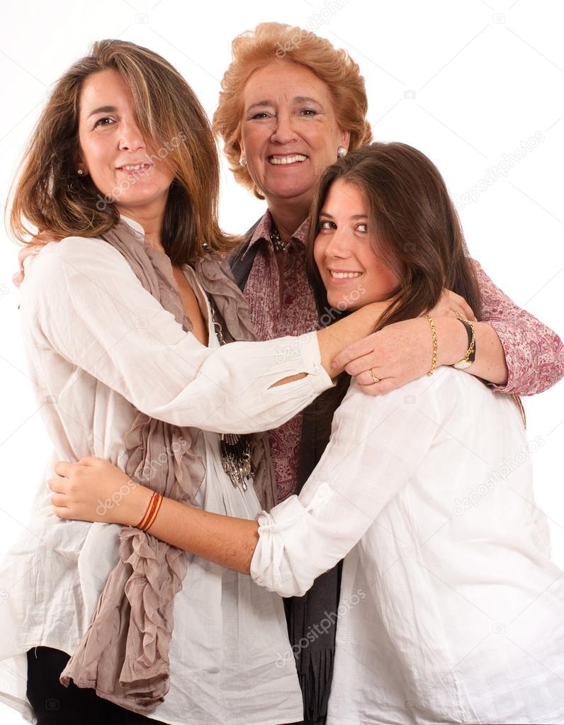 Фото женщин семьи анекдот целую