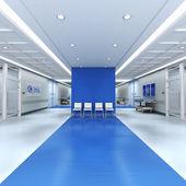 Hospital blue