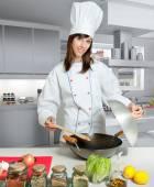 Fotografie Vok vaření