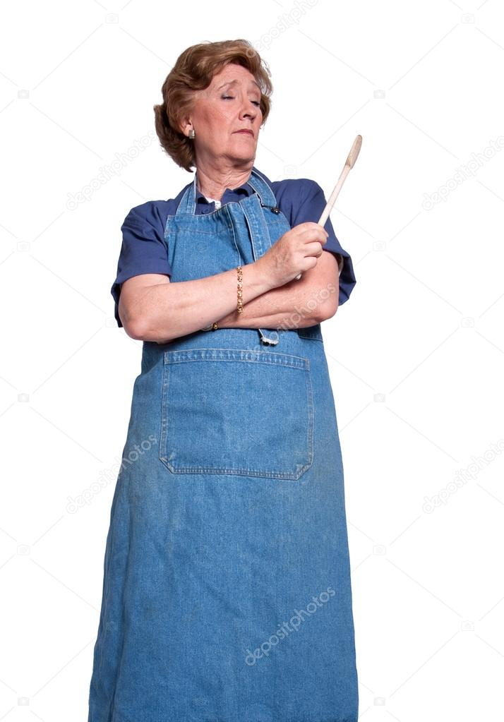 Mature kucharka