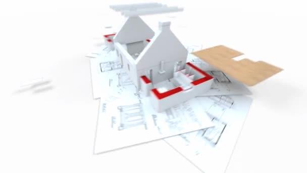 Hausarchitektur und -bau