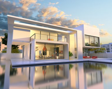 Dream house back