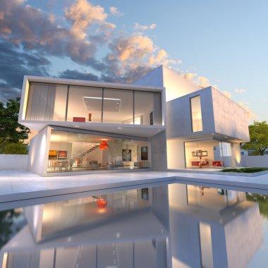 House cube deconstruction