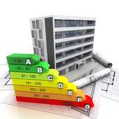 Fotografie Energieeffizientes bewertet und nachhaltiges Bauen