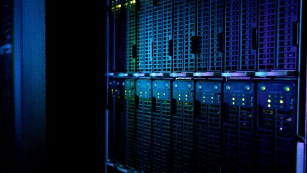 síťové servery v datových centrech