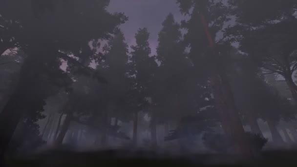 Temný Les v mlze