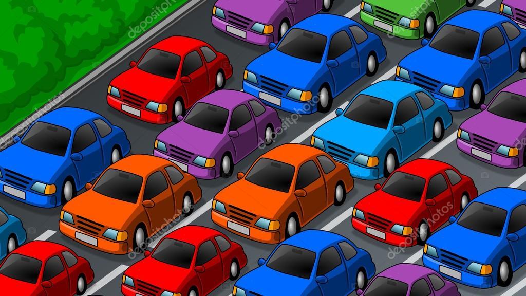 Car Parking Animation