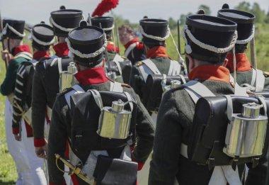 Russian troops Napoleonic wars.