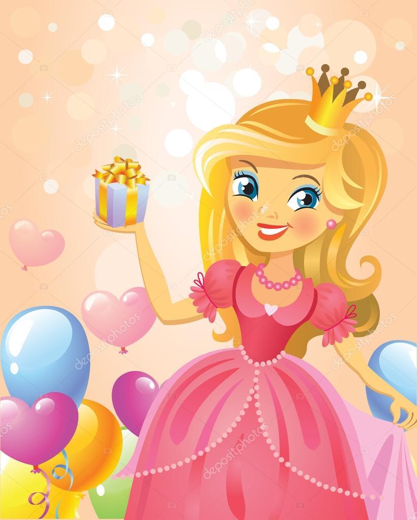 Доброго дня маленькой принцессе открытки, выпускным детском