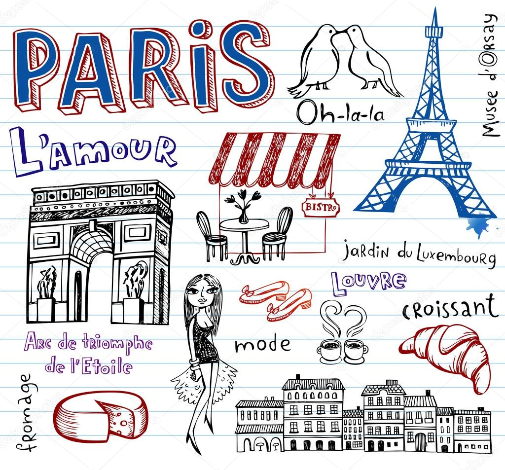 France symbols as funky doodles stock vector azzzya 67727919 france symbols as funky doodles stock vector biocorpaavc Choice Image