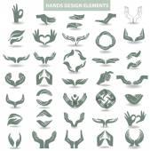 Fotografia Elemento di disegno di mani