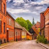 Silnice z Lundu digitální obraz