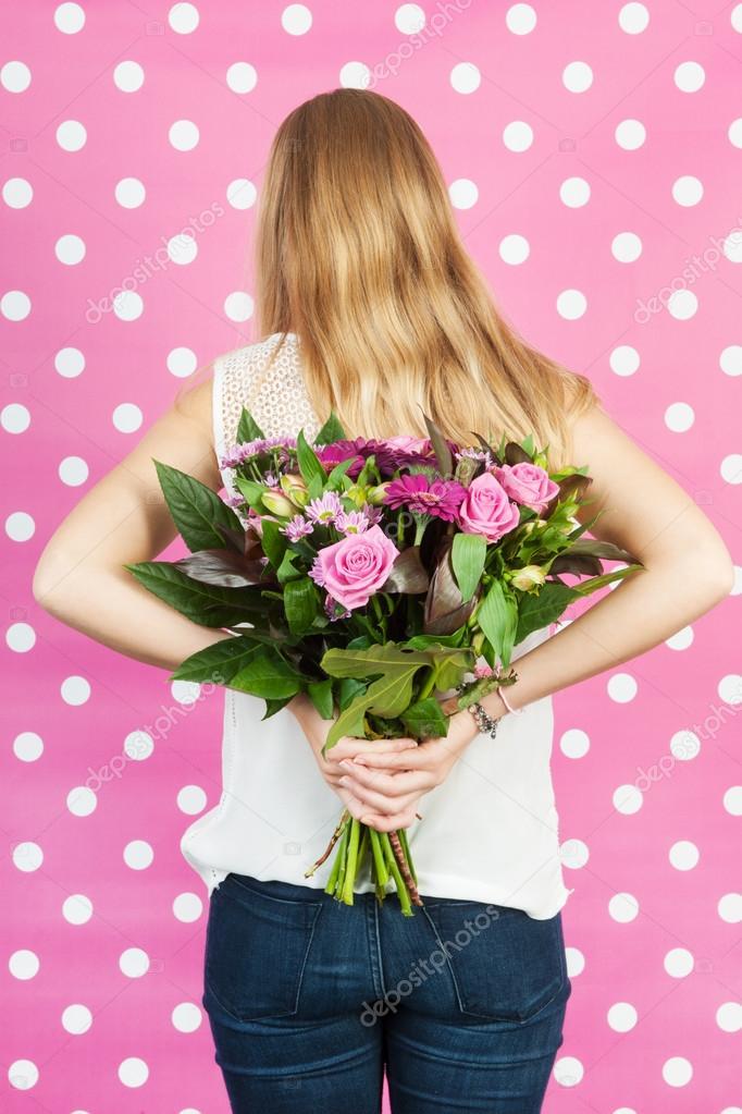 Blumen für Mutter — Stockfoto © ivonnewierink #57768495