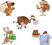 Fotografie Tiere Weihnachtskollektion