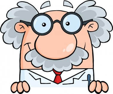 Smiling Scientist Or Professor